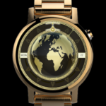 Watch Face Executive Gold Earth Wear OS SMartwatch v1.7.40 [Paid] APK Free Download