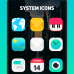Aura Icon Pack – Rounded Square Icons v5.9 [Patched] APK Free Download