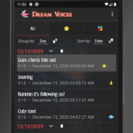 Dream Voices – Sleep talk recorder v2.4.0 [Paid] [SAP] APK Free Download